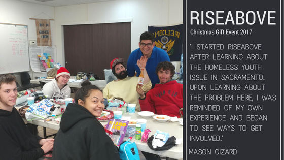 RiseAbove Christmas Gift Event
