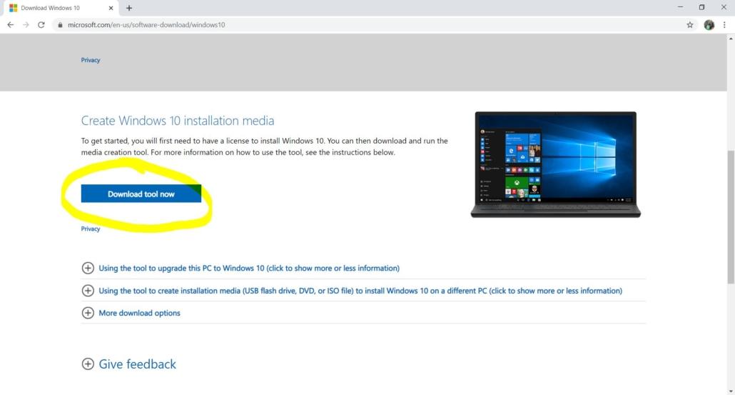download windows tool