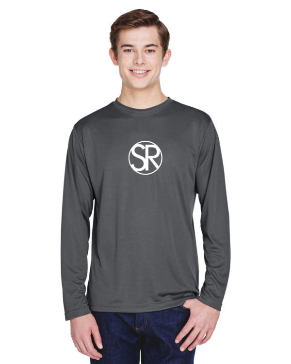 gray UV Performance shirts